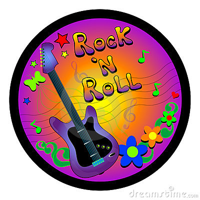 Rock and roll clip art free.