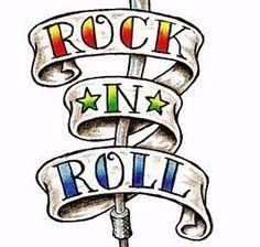Rock N Roll Clipart Free.