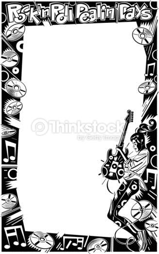 47+] Rock and Roll Wallpaper Borders on WallpaperSafari.