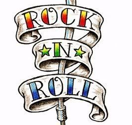 Rock And Roll Clip Art.