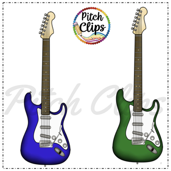 Electric Guitar Clipart (Clip Art).