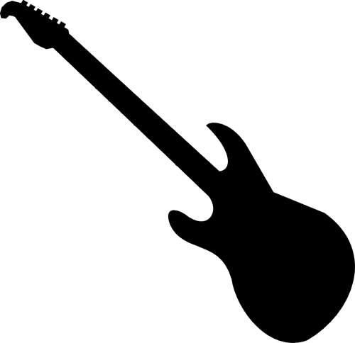 Rock Guitar Clipart.