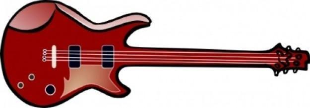 Electric Guitar Clip Art.