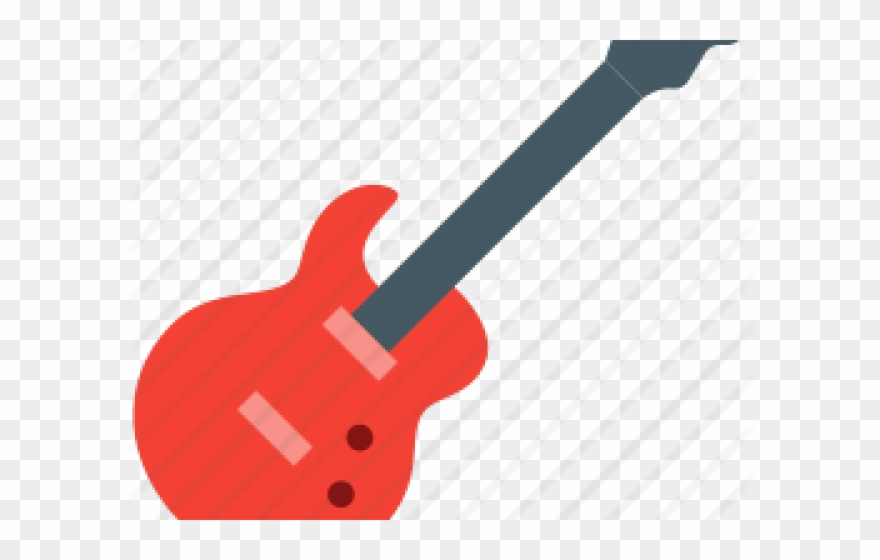 Bass Guitar Clipart Rock And Roll Guitar.