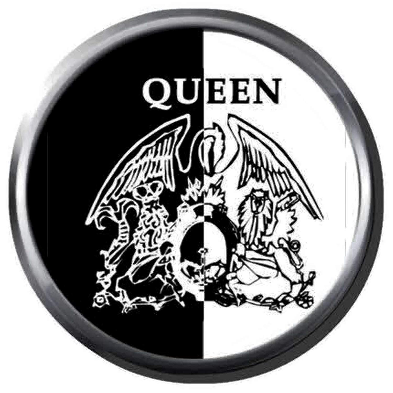 Amazon.com: Freddie Mercury Artist Creates Queen Crest Logo.