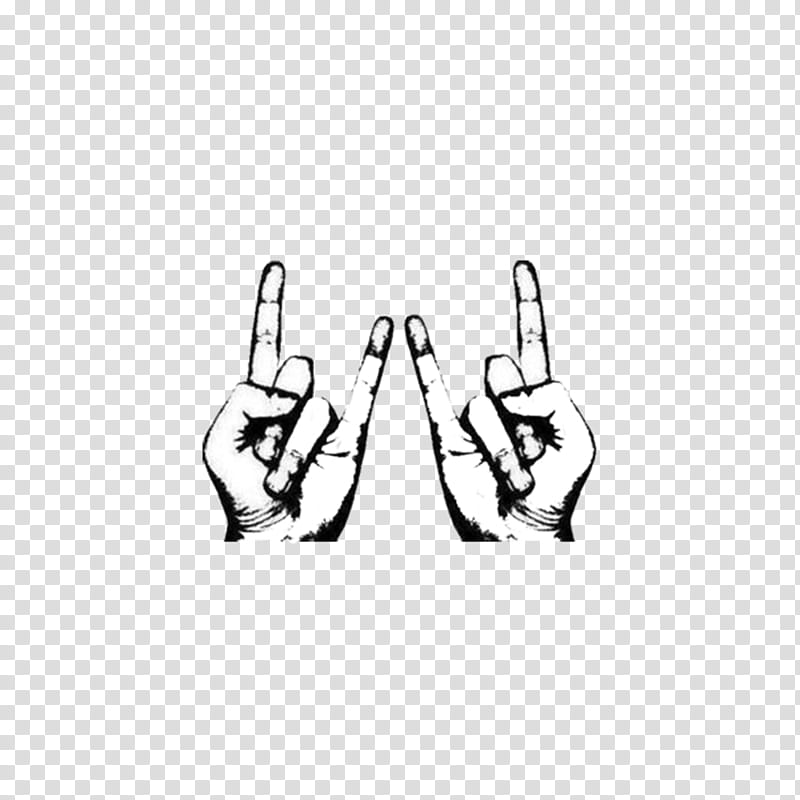 I M A COMIC , rock and roll hand sign illustration.