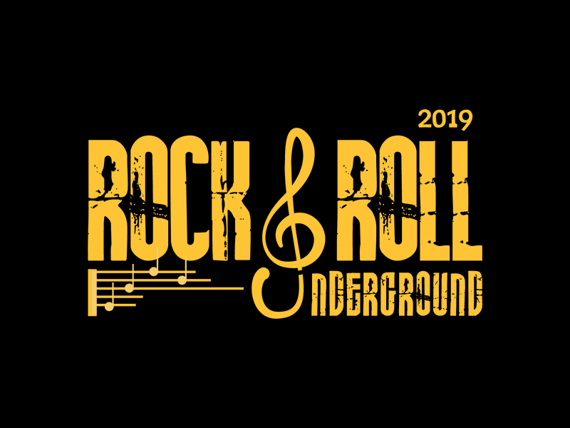 Rock & Roll Logo by Rohit kashyap on Dribbble.