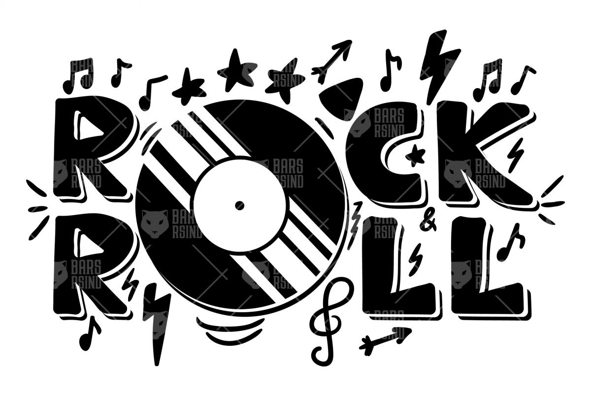 Rock n Roll Overlay.