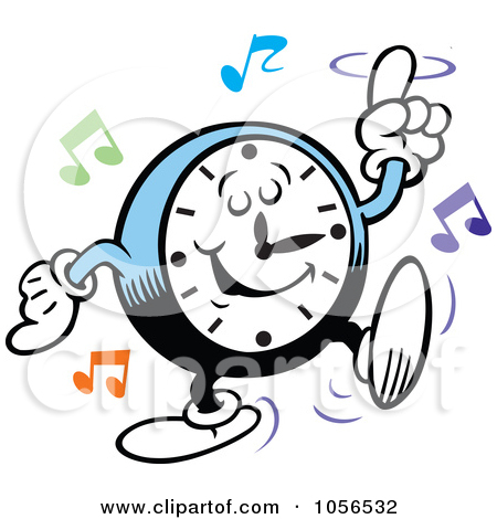 Rock Around The Clock Clipart (56+).