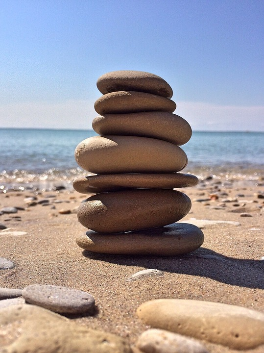 Rock, Balancing.