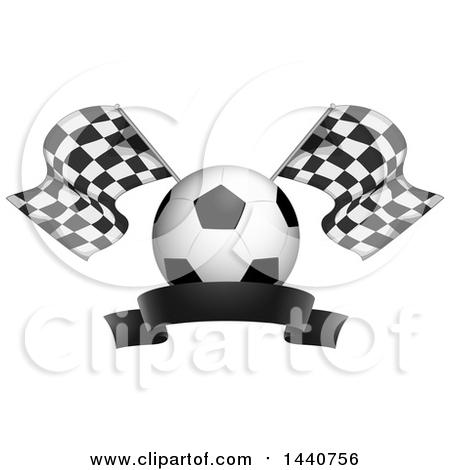 Cartoon Of A Soccer Ball Mascot Gesturing Rock On.
