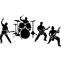 49+ Rock Band Clipart.