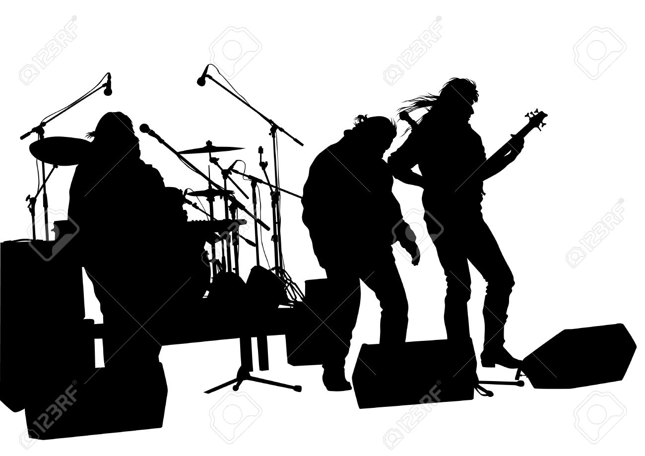 Band clipart rock band, Band rock band Transparent FREE for.