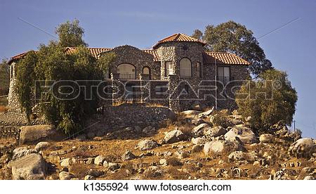 Stock Photo of Rock Castle of Perris, California k1355924.