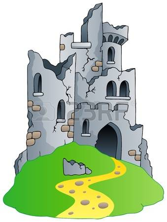837 Castle Rock Stock Vector Illustration And Royalty Free Castle.