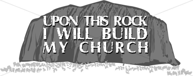 Rock Building Clipart.