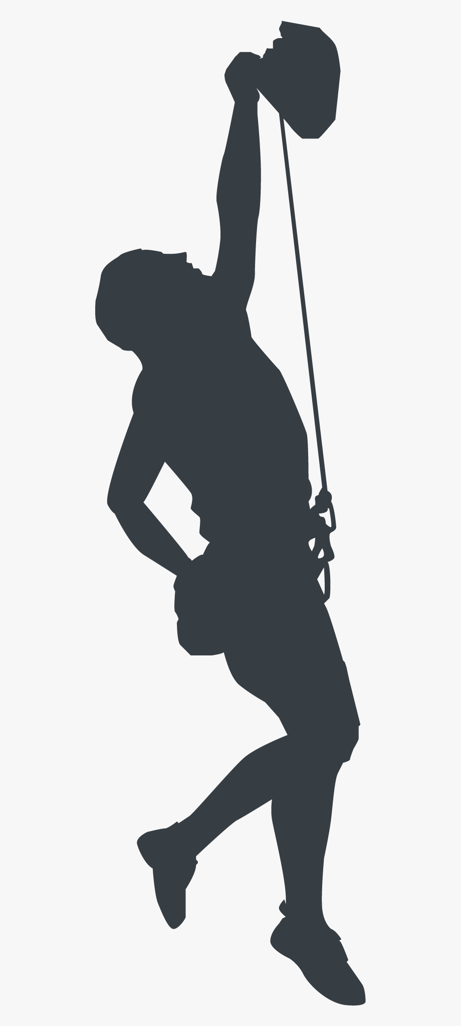 Rock Climbing Mountain Clipart , Png Download.