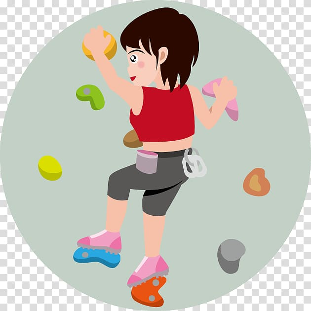 Bouldering Sport , rock climbing transparent background PNG.