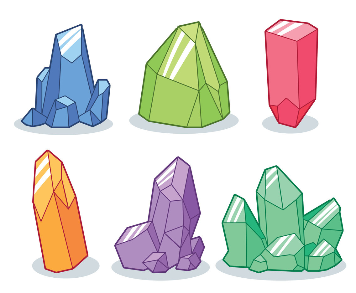 Rock Collection Clipart.