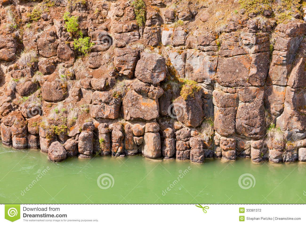 Basalt Columns Texture Stock Photos, Images, & Pictures.
