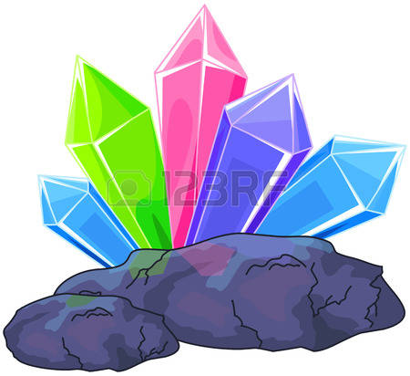 3,838 Rock Crystal Stock Vector Illustration And Royalty Free Rock.