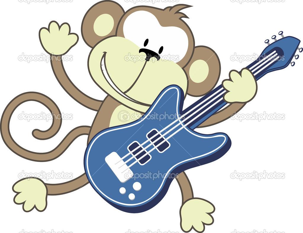 Monkey rock — Stock Vector © hayaship #10412675.