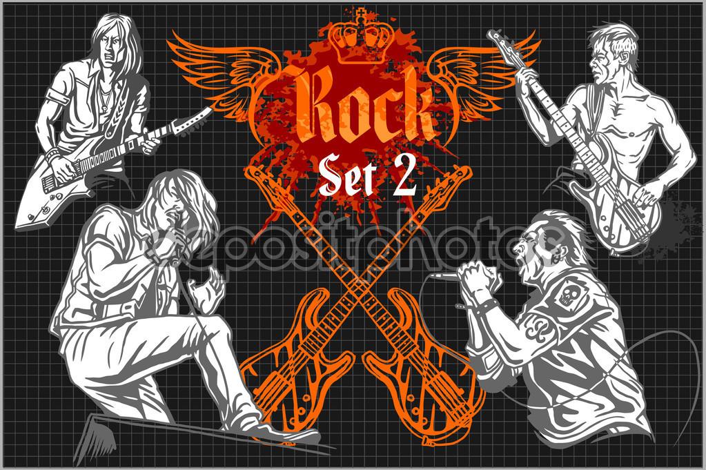 Rock concert poster.