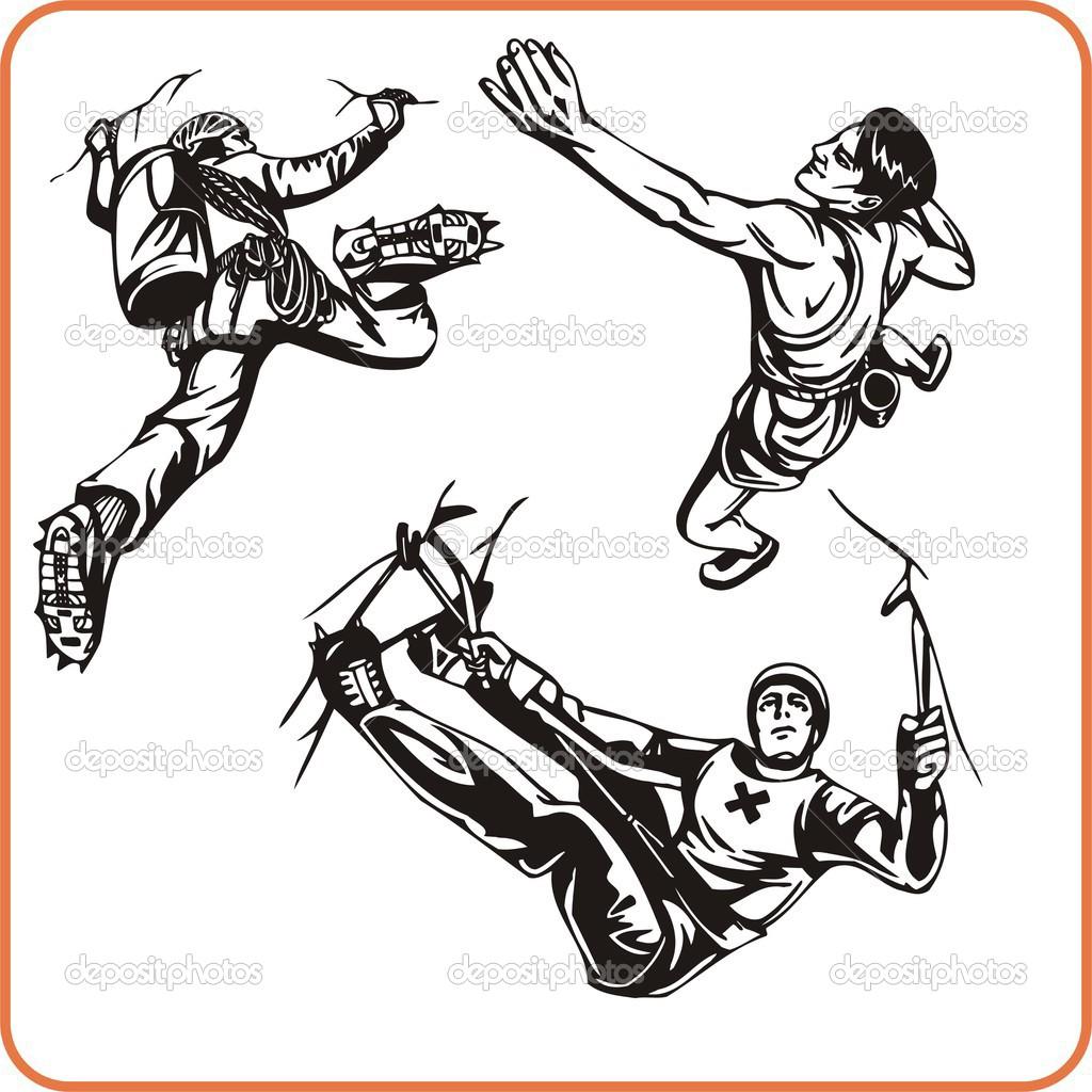 Extreme sport. — Stock Vector © Digital.
