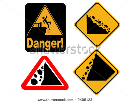 Falling rocks signs free vector download (7,799 Free vector) for.