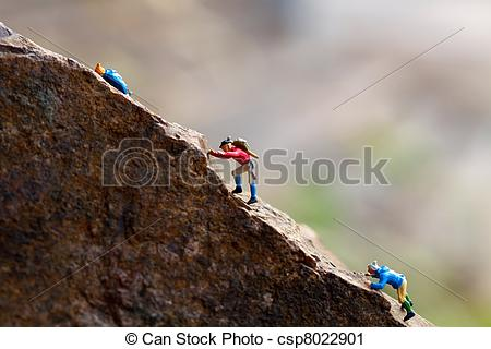 Stock Photography of climbing.
