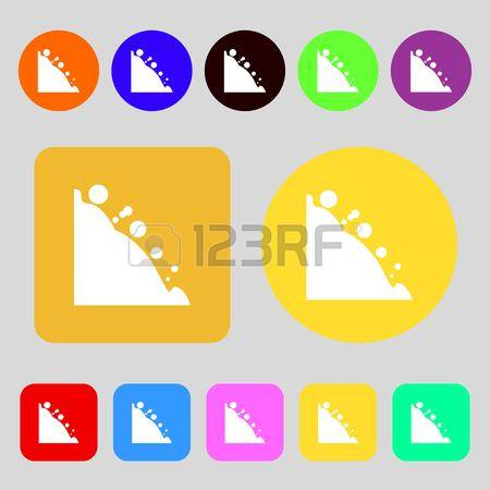 315 Rockfall Stock Vector Illustration And Royalty Free Rockfall.