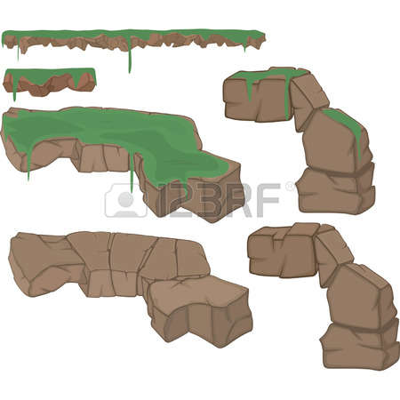 545 Rock Formation Cliparts, Stock Vector And Royalty Free Rock.