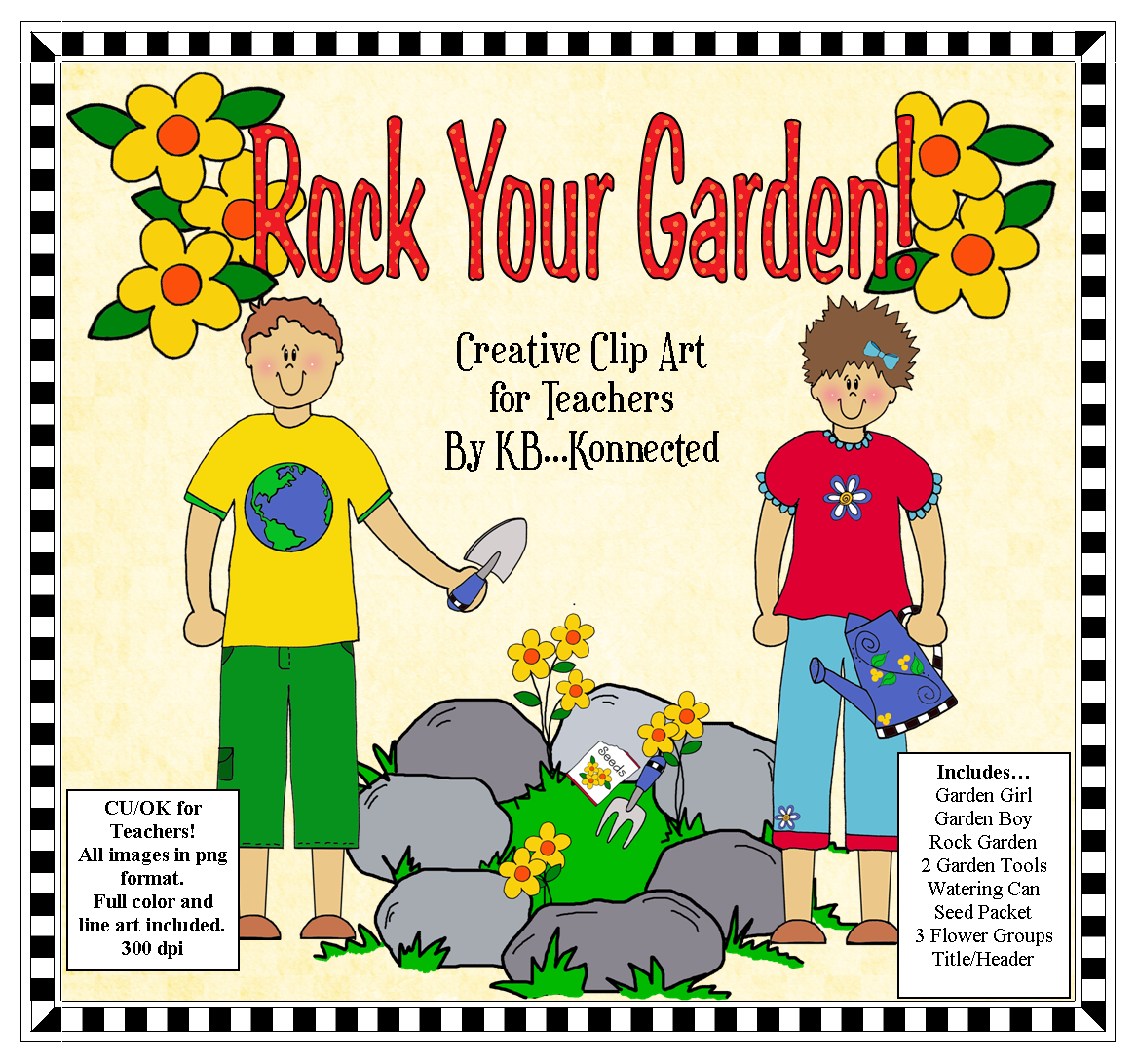 Garden Kids A Beautiful Rock Garden And Many Garden Themed #7jLASH.