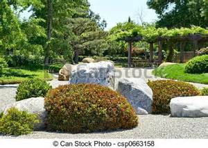 Stone Path Clip Art for Pinterest, Rock Garden Clip Art.
