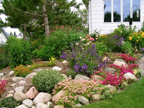 rock garden landscaping.