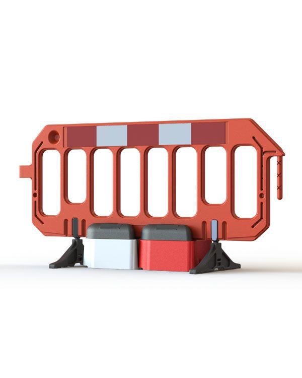 Road Rock Gate Safety Barrier Stabiliser Block.