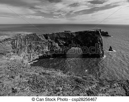 Stock Image of Rock sea gate.