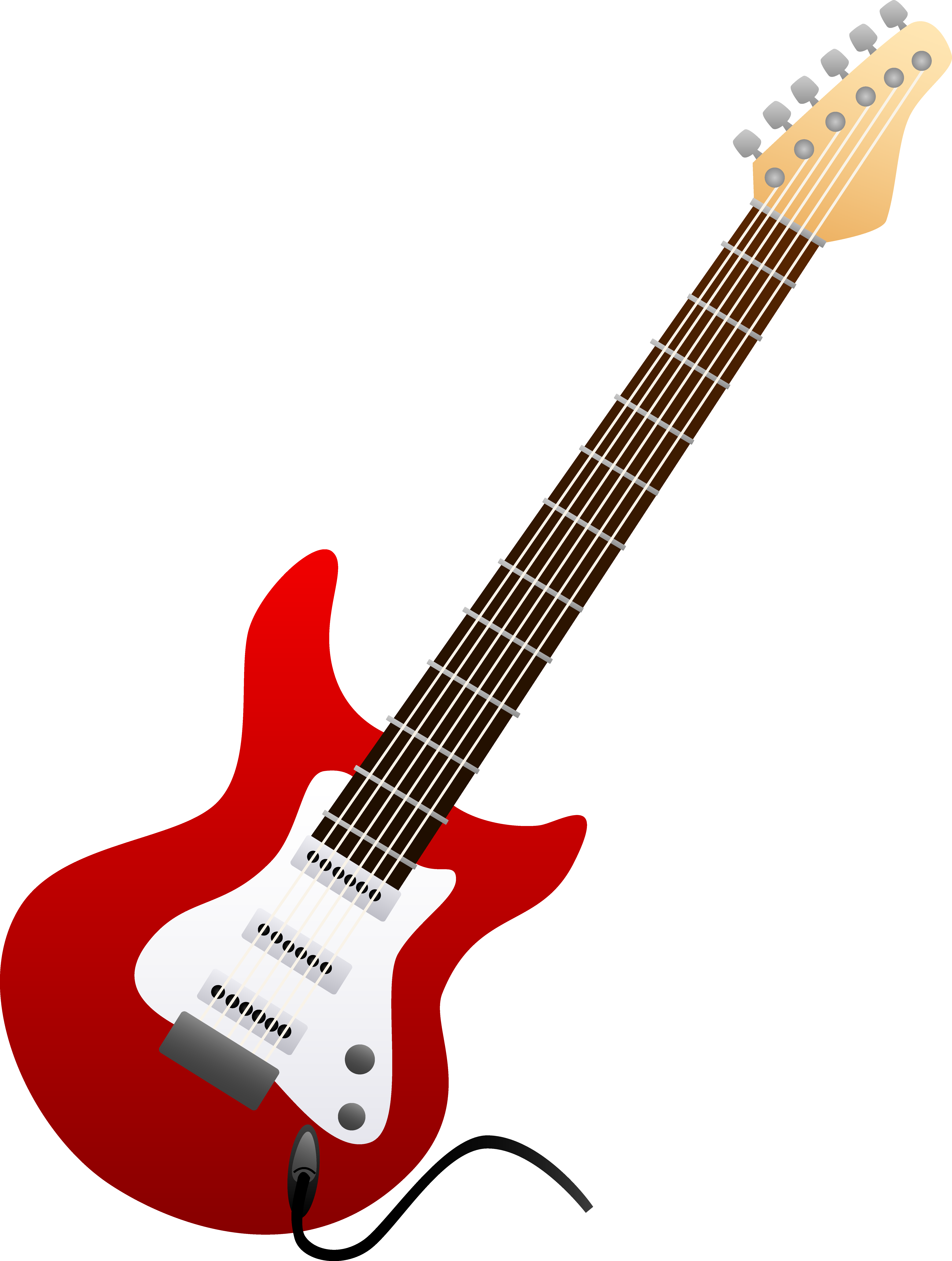 Rock star guitar clip art free clipart images.