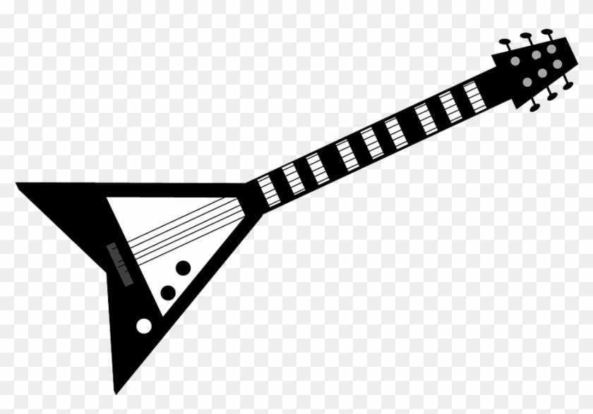 Rock Guitar Png Pic.
