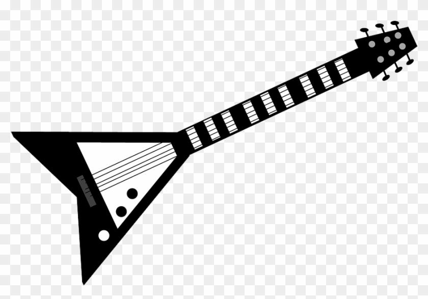 Rock Guitar Png Pic.