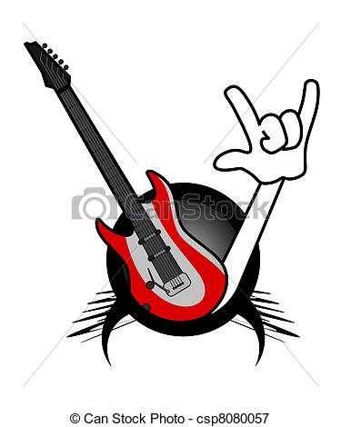 Stock Illustrations of Rock show.