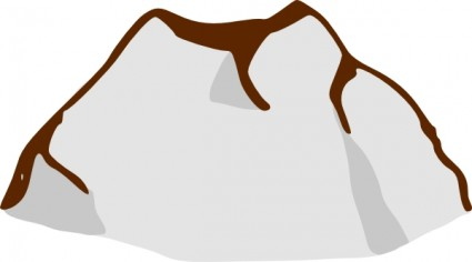 Stone Rock Clipart.
