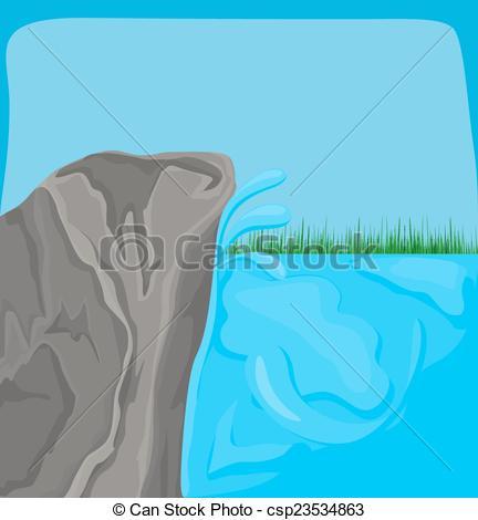 Sea Rock Clip Art.