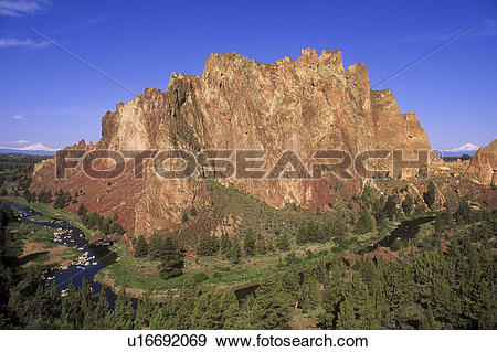 Stock Photograph of Smith Rock State Park u16692069.