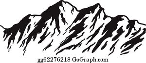 Rocky Mountains Clip Art.