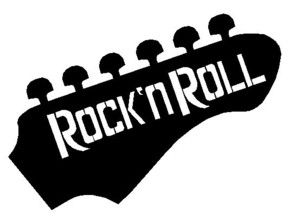 free rock and roll clip art.