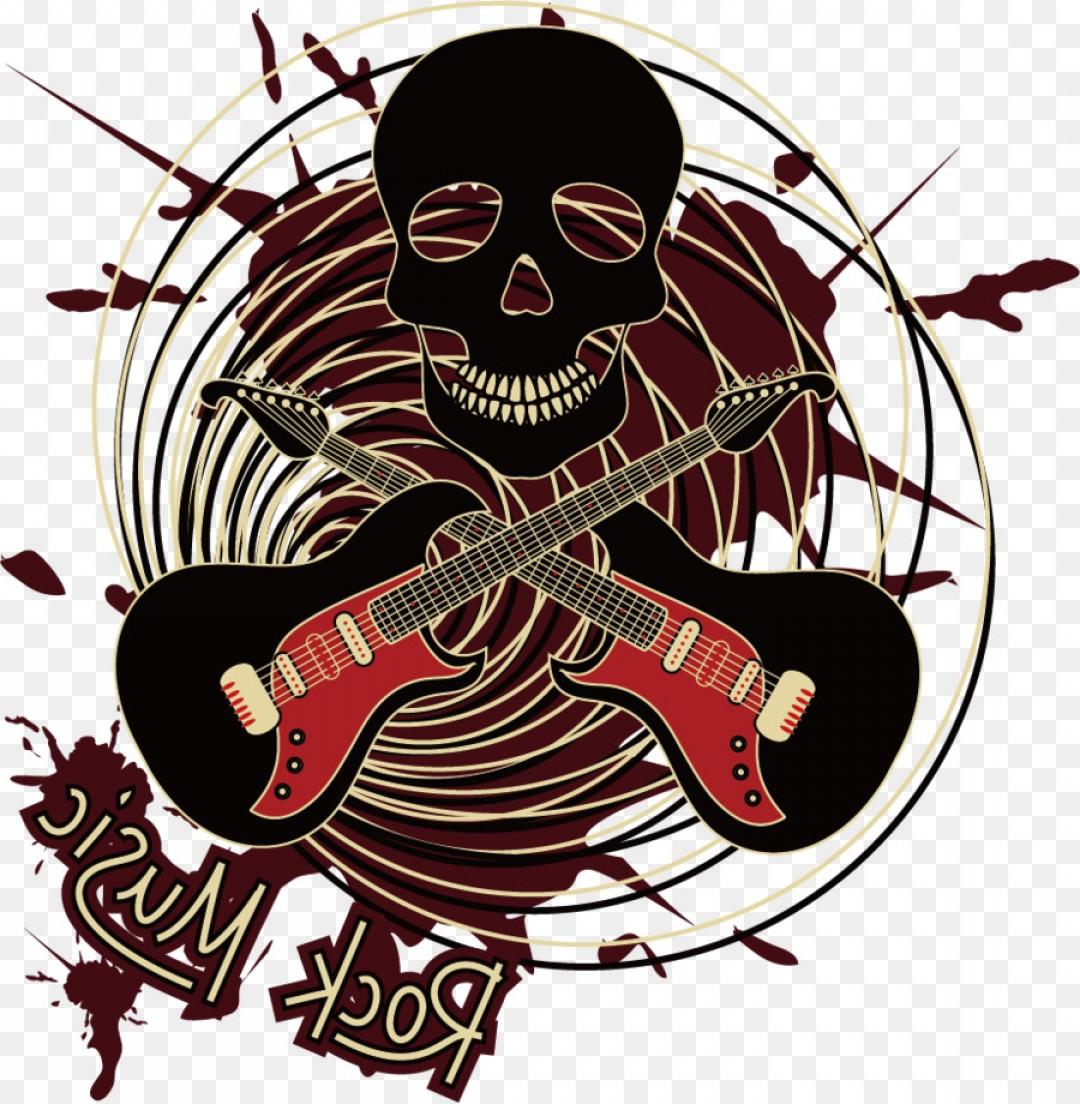 Png Rock Music Illustration Musical Background Vector.