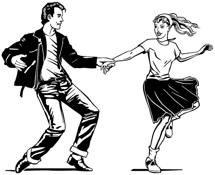 Free Fifties Dance Cliparts, Download Free Clip Art, Free.