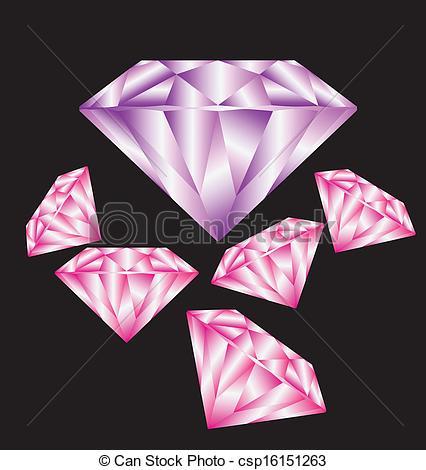 Rock of diamond clipart #7