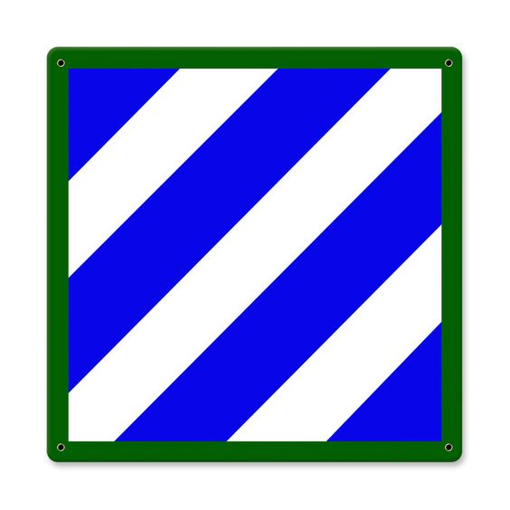 "The 3rd Infantry Division (nicknamed the ""Rock of the Marne"") is a."